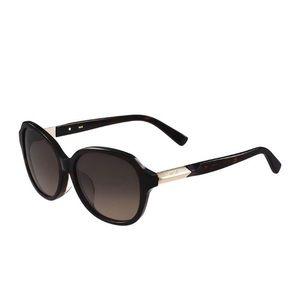 NWT MCM Havana 58mm Round Sunglasses